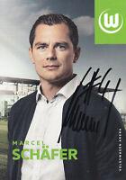 Marcel SCHÄFER - DFB-Nationalspieler, VfL Wolfsburg, 2018/19, Original-Autogramm