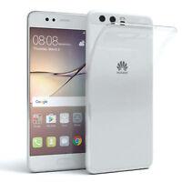 Schutz Hülle für Huawei P10 Case Silikon Handy Cover Transparent