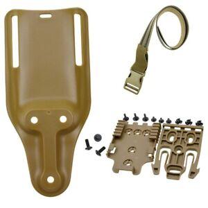 New Safariland 6070UBL Mid Ride Universal UBL Belt Set Loop 2 Belt Holster Drop