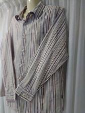 Mens Colorado Shirt, XL, Long Sleeves, Stripes, Cotton Blend