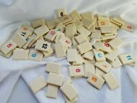 Rummikub Tiles Individual Engraved Back Replacement Game Pieces You Pick