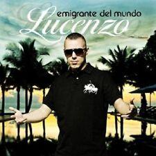 """LUCENZO """"EMIGRANTE DEL MUNDO"""" CD NEW+"""