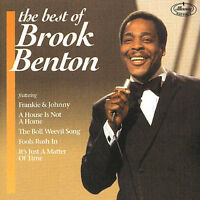 BROOK BENTON - BEST OF BROOK BENTON [MERCURY] NEW CD