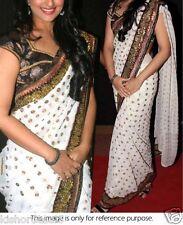 Veeraa Saree Exclusive Beautiful Designer Bollywood Indian Partywear Sari121