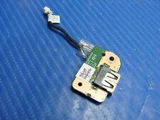 """Toshiba Satellite C855-S5206 15.6"""" Genuine USB Board w/ Cable 6050A2496701"""