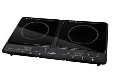 5 Star Chef CTIN2131 Dual Induction Cooktop - Black
