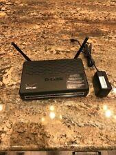 Verizon D-Link Wireless ADSL 2+ Router w/Power Adapter Model DSL-2750B