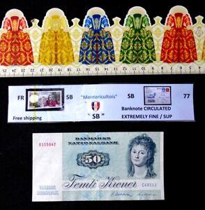 Banknote, DENMARK, 50 Kroner, Date: 1972.