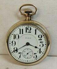 Size 19 Jewel Pocket Watch Antique Elgin B. W. Raymond 18