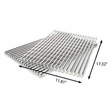 """Weber Spirit Genesis Gas Grill 8mm Rod Stainless Cooking Grates 23 1/4"""" x 17 1/4"""