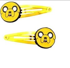 NEW Cartoon Network Adventure Time w/ Finn & Jake Hair Clips 2pc Jake Big Face