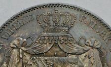 Saxony-Albertine 2 Thaler 1847F. KM#1149. .900 Silver Crown coin. 3 1/2 Gulden.
