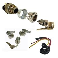 1969-1977 Ford Keyed Alike Door & Ignition Switch Kit w/ Ignition Socket Wiring