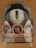 Wireless Headphones with FM Scan Radio Innovage 2007 Sealed New!!!