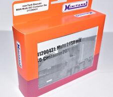 MINITANK 211200431 LKW 8x8 MAN 15to Multi Container, Bausatz, Bw NEU & OVP 1:87