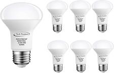 Tech Traders R63 Reflector LED Spotlight Bulbs, Aluminum/Plastic, E27, 9 W, Cool