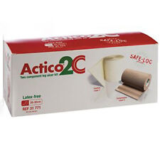 Actico 2 C privo di lattice gamba ulcera KIT STD 25 CM x 32 CM x 1