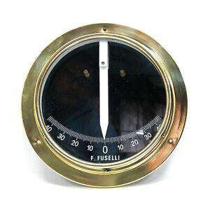 Fuselli Clinometer Dial Diam 160mm Flange Diam 210mm