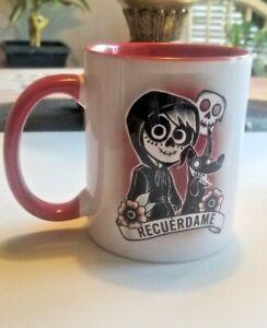 Dia De Los Muertos Coco Recuerdame 12oz Coffee Mug / Tasa de Dia de los Muertos