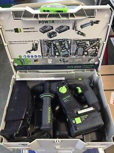 Festool Akku-Bohrhammer BHC 18 Li 5,2 l-Plus Art. 575697