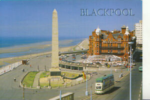 Lancashire Postcard - Greetings From Blackpool - Ref TZ6063