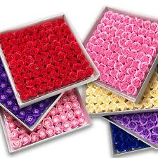 81 Pcs Set Rose Bath Soap Flower Petal Wedding Party Valentine's Day Girls Gift