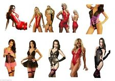 Unbranded Lace Glamour Lingerie Bodies for Women