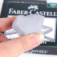 2pcs Faber-Castell Soft Drawing Rubber Eraser Pencils Graphic Sketch Art NO 7020
