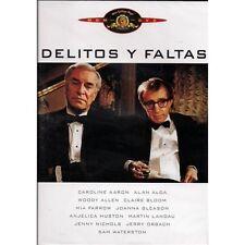 Delitos y faltas (Woody Allen DVD Nuevo)