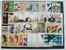 Germany Complete Year 1997 Stamp Set + Souvenir Sheet Singles MNH German Stamps