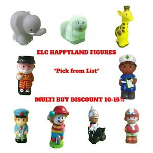 Happyland Figures and Animals Pick From List Any Amount One Postage ELC