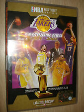 DVD N°6 NBA HISTORY 1997-2013 LOS ANGELES LAKERS CAMPIONI 2002 ITALIANO-ENGLISH