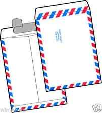 9 x 12 Tyvek Air Mail Marketing Envelopes 500/lot Red & Blue Border