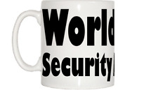 World's Best Security Attendant Mug