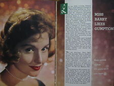 March 28, 1959  TV  Guide (PATRICIA  BARRY/MARY MARTIN/HORACE  McMAHON/PETER PAN