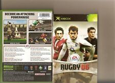EA RUGBY 06 XBOX / X BOX 360 RARE RUGBY 2006