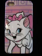 Marie Hard Cover Case 4 iPhone 4 4s Gen New Aristocrat Marie Pink Background