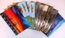 1 dozen assorted Arizona Post Cards, pictures show included cards assortment #8