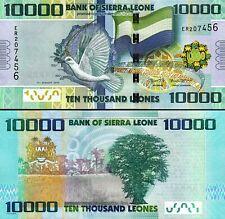 Sierra Leone 10000 10,000 Leones 2015, UNC, P-33