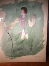 Theater Costume Design ~ James Bakkom ~ Octave From Scapin The Schemer ~ Moliere