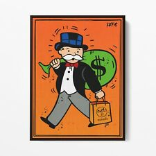 More details for hermes x monopoly (poster print) alec inspired - pop wall art