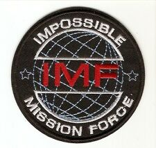 + MISSION IMPOSSIBLE Aufnäher Patch IMF Impossible Mission Force Tom Cruise