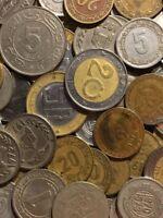 100 Gramm Restmünzen/Umlaufmünzen Algerien
