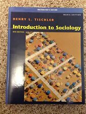 Introduction to Sociology : Media Edition by Henry L. Tischler (2003, Paperback,