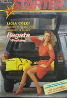 STARTER N.27 1984 REGATA WEEKEND LICIA COLO' POSTER ILONA STALLER