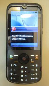 Motorola ZINE ZN5 - Black (T-Mobile) Cellular Phone