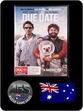 Due Date (DVD) Region 4 - Robert Downey Jr. - Zach Galifianakis - COMEDY - DRAMA