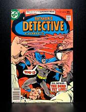 COMICS: DC: Detective Comics #471 (1977), 1st Modern Age Hugo Strange app - RARE
