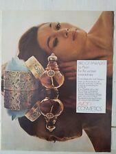 1969 Avon Bird of Paradise perfume bottle cosmetics for woman extraordinary ad