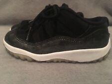 Toddler Jordan 11 Retro Low Basketball Shoes - Raptors - Size 9C